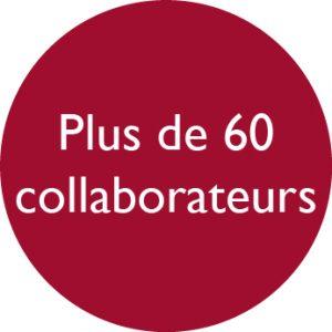 60 collaborateurs